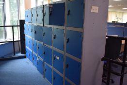 8 Locker Unit qty 2, 4 Locker Unit Qty 3