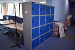 8 Locker Unit qty 2