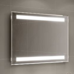 New 600 x 800mm - Omega Illuminated Led Mirror . RRP £499.99.Ml7003.Flattering Led Lights