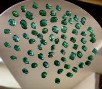 Natural Zambian Emerald 52 CTS beautiful lot