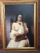 Beautifully presented old master style painting