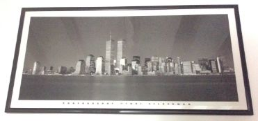 Large frames panoramic view of New York Photographic print by Henry Silberman 1983