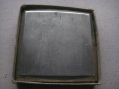 Vintage Silver-Plated Cigarette Case