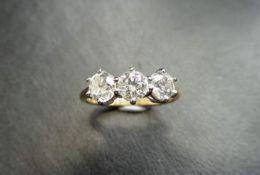 3.00ct Diamond Trilogy Ring