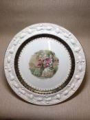 Display plate, Fragonard.