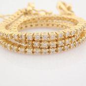 1 Ct. Diamond Tennis Bracelet - 14K Yellow Gold