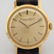 IWC / Schaffhausen 18K - Lady's Yellow gold Wrist Watch