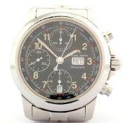 Maurice Lacroix / 39721 Automatic Chronograph - Gentlmen's Steel Wrist Watch