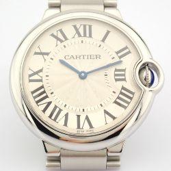 Cartier / Ballon Bleu 3005 - Gentlmen's Steel Wrist Watch