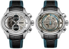 Hamilton / Jazzmaster Face2Face II - Gentlmen's Steel Wrist Watch