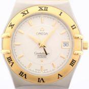 Omega / Constellation Perpetual Calendar - Gentlmen's Gold/Steel Wrist Watch