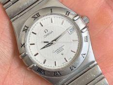 Omega / Constellation Perpetual Calendar 35mm - Gentlmen's Steel Wrist Watch