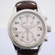 Louis Erard / Heritage Chrono - Gentlmen's Steel Wrist Watch