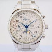 Longines / Master Collection L27734 - Gentlmen's Steel Wrist Watch