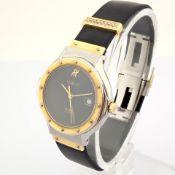 Hublot / MDM Diamond 18K Gold & Steel - Lady's Gold/Steel Wrist Watch