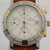 Universal Geneve / Compax 698.410 - Gentlmen's Steel Wrist Watch