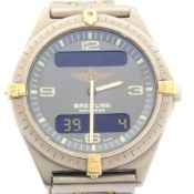 Breitling / Navitimer 80360 - Gentlmen's Titanium Wrist Watch