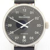 Meistersinger / Scrypto - Gentlmen's Steel Wrist Watch