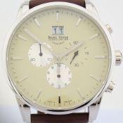 Bruno Söhnle - Glashütte / Chronograph XL - Gentlmen's Steel Wrist Watch