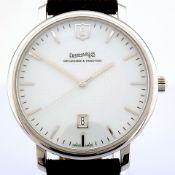 Eberhard & Co. / Alien - Gentlmen's Steel Wrist Watch
