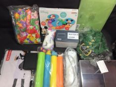 BRAND NEW STOCK 10x Mixed Items To Inc Costume, 4 Socket Extention Lead, Butter Dish, ect
