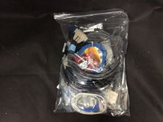 Bag of Mixed Test Equipment Cables