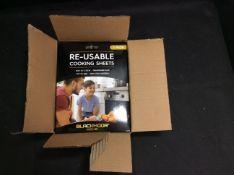 Box of 24 Reusable Cooking Sheets (2pk)