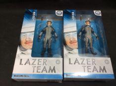 BRAND NEW STOCK 2x Rooster Teeth Lazer Team Woody Figurine