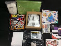 BRAND NEW STOCK 10x Mixed Items To Inc Marmitek Remote Extender, Lino Cutting & Printing Kit, ect