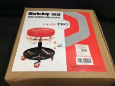 Master Pro Workshop Seat with Height Adjustment