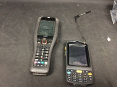 2x Mixed Barcode Scanners To Include Casio DT-X30GR-30C, Motorola N410