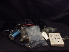 Box of Mixed Items To Include Lecia Mikrosysteme, ATI Industrial Automation DAQ F/T, ect