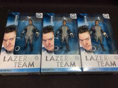 BRAND NEW STOCK 3x Rooster Teeth Lazer Team Hagan Figurine