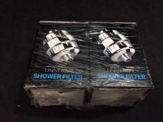 2x Universal Shower Filter