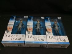 BRAND NEW STOCK 3x Rooster Teeth Lazer Team Woody Figurine