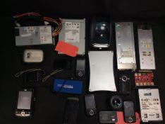 20x Mixed Items To Inc Digital Data Storage, HP iPAQ, Dymo LabelWriter, Camera Lens, ect