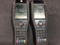 2x Casio Barcode Scanners DT-X30GR-30C