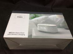 I-Box Dawn Bedside Alarm Clock with Wireless Charging