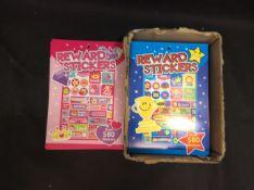 BRAND NEW STOCK Box of Mixed Rewards Stickers