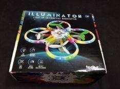 Illuminator Light Up Interactive Quadcopter