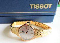 Vintage Ladies Tissot Gold Plated Watch