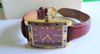 Gents Ingersoll Gems Watch Leather Strap