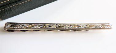 Vintage Sterling Silver Tie Clip