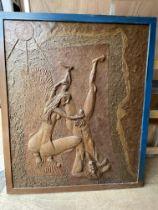 Large sculpture by D Baramonski 1991