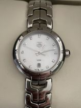 Ladies Tag Heuer Diamond and Mother of Pearl Watch