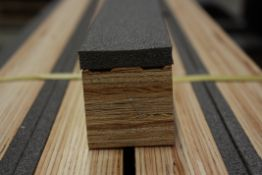19no. Sports floor battens, 76lm,45mm thick (for 23.75sqm sports flooring) HW5618