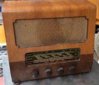Vintage Marconiphone T26A Valve Radio