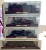 4 Atlas Editions Collectable Model Trains