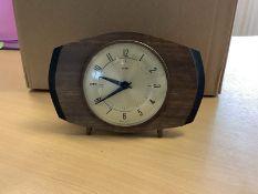 1960s Vintage Metamec Mantel Clock
