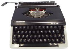 Vintage Silver Seiko Reed Leader Typewriter